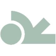 Varivello Creool Aanhanger  Rookkwarts gefacetteerd 18kt Witgoud