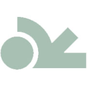 Gioia | Earstuds 14 Carat PinkGold | London Blue Topas 8mm