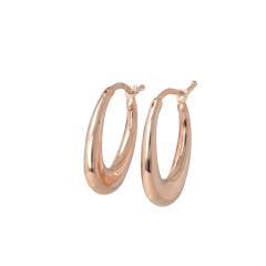 Be | Earrings Pink Gold | Hoops
