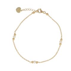 KEK | Bracelet Yellow gold | Pearl