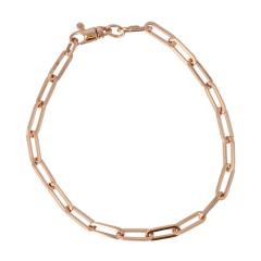 Be | Bracelet 14 carat Pink Gold | Closed Forever