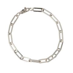 Be | Bracelet 14 carat Whitegold | Closed Forever