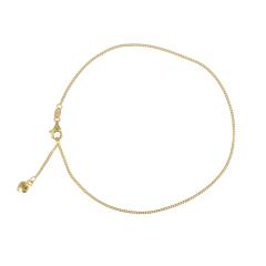 KEK | Ankle bracelet Yellow gold | Heart