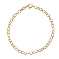 Be | Bracelet Yellow Gold | Jasseron
