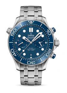 Omega Seamaster Diver 300M Chronograph Blue | 44MM 210.30.44.51.03.001