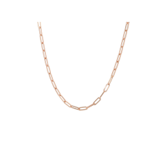 Be | Necklace Pink Gold | Closed Forever