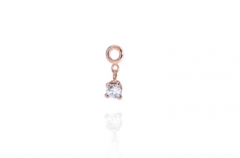 White Solitaire Diamond
