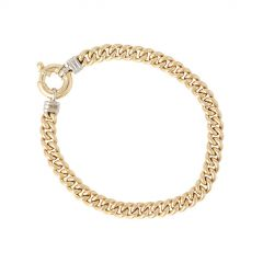 Be | Bracelet Yellow Gold | Curb Chain