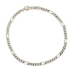 Be | Bracelet White gold | Figaro