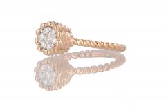 IVY ring Round met Diamant