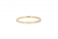 Yeva | 14carat Yellowgold Ring | Diamond