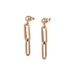 Be | Earstuds Pink Gold | Closed Forever