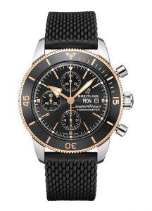 Breitling Superocean Heritage Chronograph Black   44MM