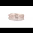 Be | Ring 14carat Pink gold | Diamonds