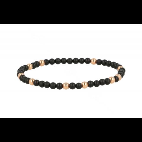 Sundrops | Bracelet Pink Gold | Onyx