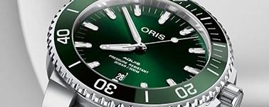 Oris Aquis Green